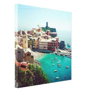 Impresión envuelta foto de encargo de la lona de I Lona Envuelta Para Galerias