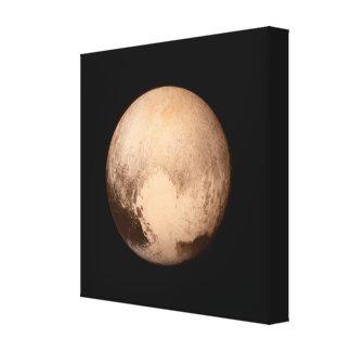 Impresión envuelta foto de la lona de Plutón Impresión En Lona