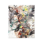 Impresión envuelta galería abstracta moderna de la impresion de lienzo