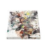 Impresión envuelta galería abstracta moderna de la lona envuelta para galerías
