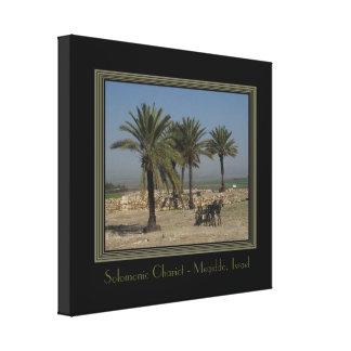 Impresión envuelta Israel de la lona del viaje Lona Envuelta Para Galerias