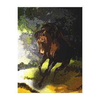 Impresión envuelta libre corriente de la lona lienzo envuelto para galerías