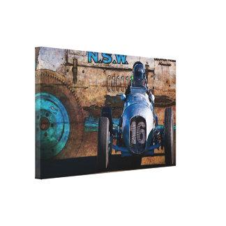 Impresión especial de lámina de la lona de George Lona Envuelta Para Galerias