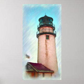 Impresión estándar ligera de la pintura al óleo de póster