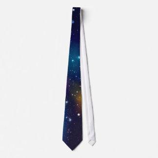 Impresión estelar de la galaxia corbatas