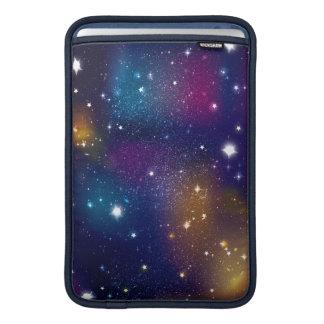 Impresión estelar de la galaxia funda macbook air