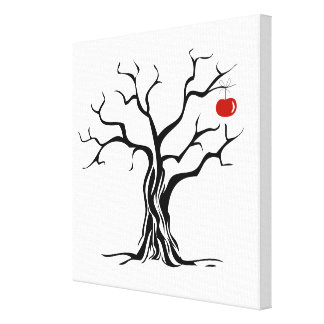 Impresión estirada árbol estilizado de la lona impresiones en lona estiradas