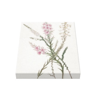 Impresión estirada de la lona de los Wildflowers Impresión En Tela