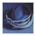 Impresión estirada de la lona del gorra de vaquero impresión de lienzo