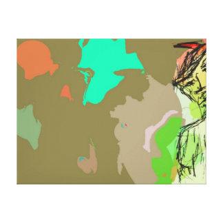 Impresión estirada de la lona impresion de lienzo