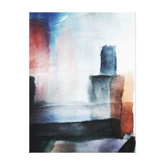 Impresión estirada de la lona lona estirada galerías