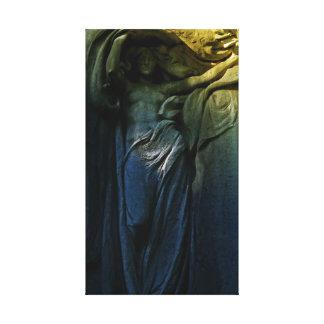 Impresión estirada de luto de la lona lona estirada galerías