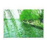 Impresión estirada lago del oeste de la lona impresión de lienzo