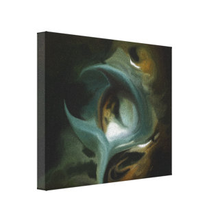Impresión estirada mundo frágil de la lona impresión en lienzo estirada