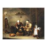 Impresión estirada pintura antigua 100 de la lona impresiones en lona