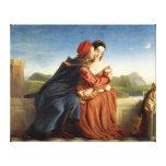 Impresión estirada pintura antigua 22 de la lona lona envuelta para galerias