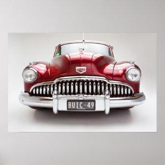 Impresión estupenda 1949 de Buick ocho Póster