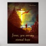 Impresión eterna de la esperanza posters