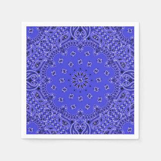 Impresión exótica de la bufanda de Paisley de la Servilleta De Papel