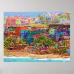 Impresión extra-muros de la lona del Los Colores ( Posters