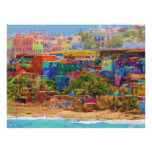 Impresión extra-muros de la lona del Los Colores ( Póster