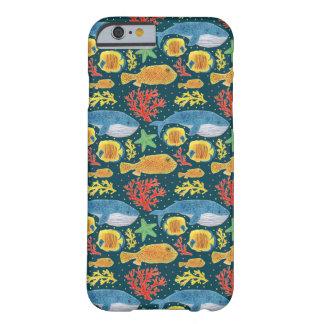 Impresión fabulosa de los animales de mar funda barely there iPhone 6