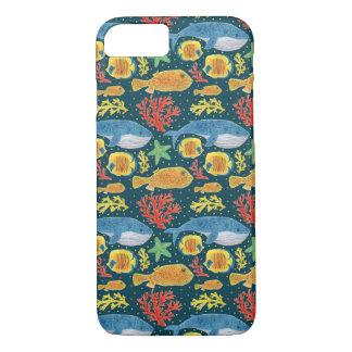 Impresión fabulosa de los animales de mar funda iPhone 7