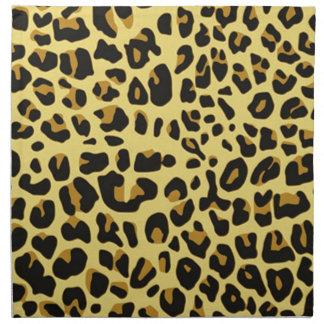 impresión felina fresca de la imagen del modelo de servilletas de papel