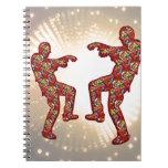 Impresión FELIZ de las CELEBRACIONES: Danza de la  Cuaderno