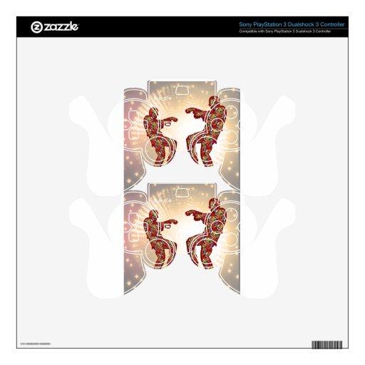 Impresión FELIZ de las CELEBRACIONES: Danza de la  Mando PS3 Skin