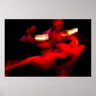 Impresión filipina de la danza Pandango sa Ilaw Impresiones
