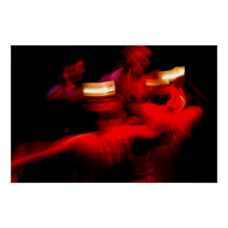 Impresión filipina de la danza Pandango sa Ilaw Póster