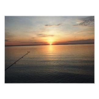 Impresión - Fishin ido Cojinete