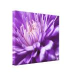 Impresión floral abstracta de la lona impresión de lienzo