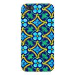 Impresión floral mexicana del amarillo del trullo  iPhone 5 protectores