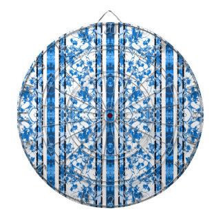 Impresión floral rayada del Chinoiserie
