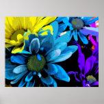 Impresión - flores brillantes 4724D Impresiones