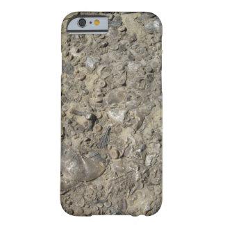Impresión fósil del hachís funda para iPhone 6 barely there