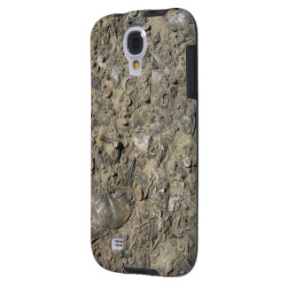 Impresión fósil del hachís (versión 2) funda para galaxy s4