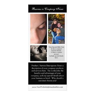 Impresión, fotografía o boda de la tarjeta del lonas personalizadas