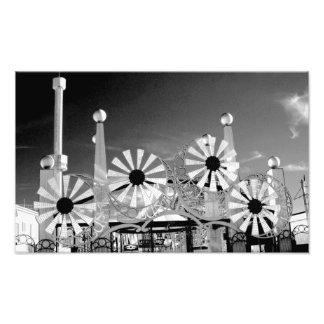 Impresión fotográfica de la entrada de Luna Park