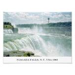Impresión fotográfica de Niagara Falls Nueva York