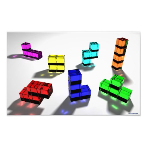 Impresión fotográfica de Tetrominoes