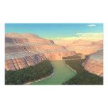 Impresión fotográfica del barranco del río Snake