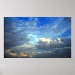 Impresión fotográfica del cielo majestuoso posters