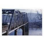 Impresión fotográfica del puente conmemorativo de