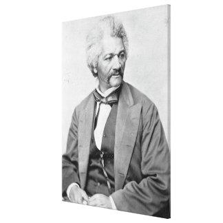 Impresión fotográfica del retrato de FREDERICK DOU Impresión En Tela