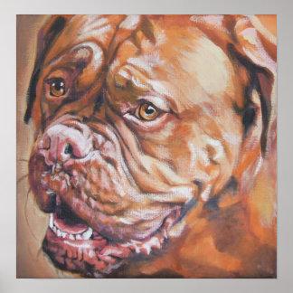 Impresión francesa del arte del mastín de Dogue de Impresiones