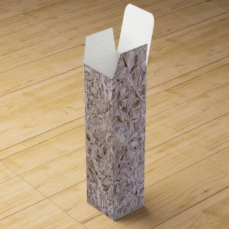 Impresión fresca estupenda de la madera contrachap caja de vino