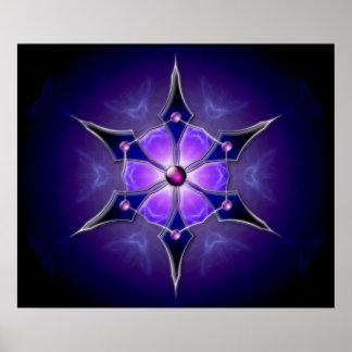Impresión fría de la luz de las estrellas impresiones